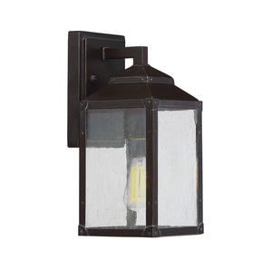 603925 - One Light Outdoor Wall Lantern - English Bronze w/ Gold