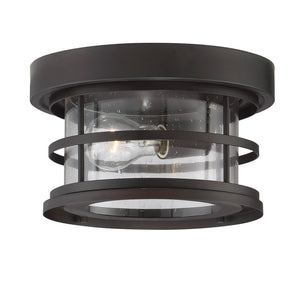 603935 - One Light Outdoor Ceiling Mount - English Bronze