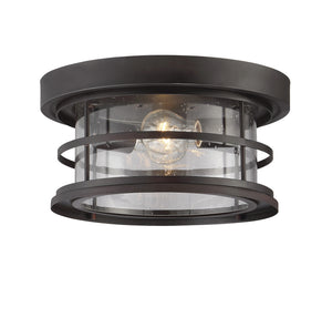 603994 - Two Light Outdoor Ceiling Mount - English Bronze