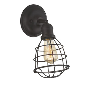603125 - One Light Wall Sconce - English Bronze