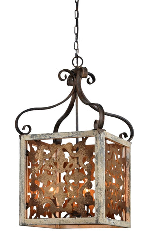 Oversized 4-light Pendant