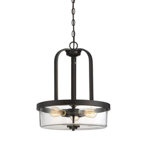 612287 - Three Light Pendant - English Bronze