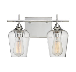 612267 - Two Light Bath Bar - Polished Chrome