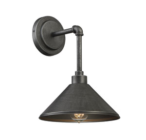 612322 - One Light Wall Sconce - Galvanized Metal