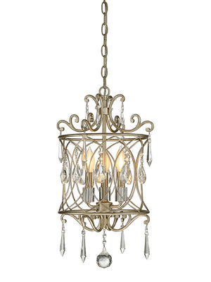 673514 - Three Light Mini Chandelier - Aurora