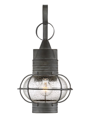 679008 - One Light Outdoor Wall Lantern - Oxidized Black