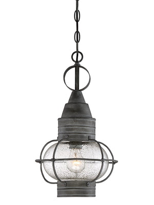 679005 - One Light Pendant - Oxidized Black
