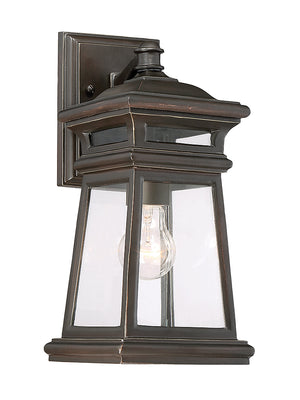 679043 - One Light Outdoor Wall Lantern - English Bronze w/ Gold