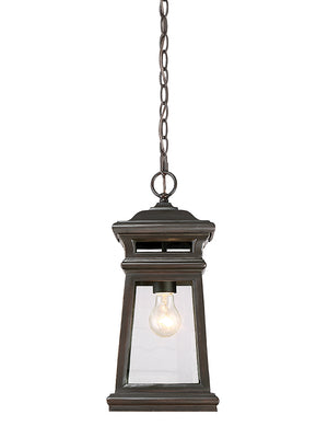 679048 - One Light Hanging Lantern - English Bronze w/ Gold