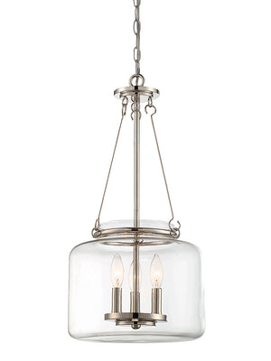 679094 - Three Light Pendant - Polished Nickel