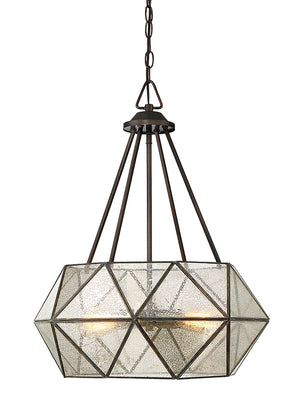 679099 - Four Light Pendant - Oiled Burnished Bronze