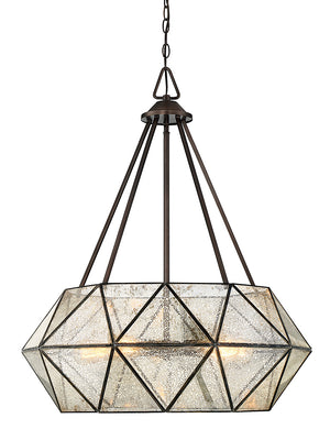 679091 - Five Light Pendant - Oiled Burnished Bronze