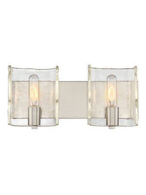 679060 - Two Light Bath Bar - Satin Nickel