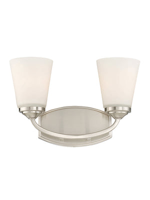 679069 - Two Light Bath Bar - Satin Nickel