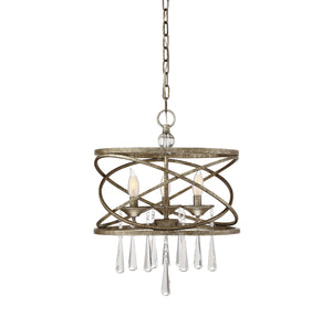 723217 - Three Light Pendant - Brittannia Gold