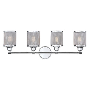723276 - Four Light Bath Bar - Polished Chrome