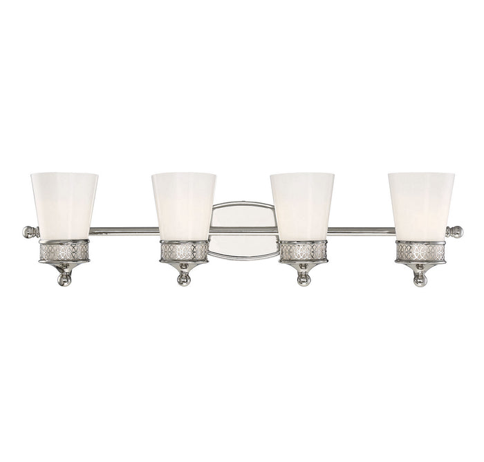 Four Light Bath Bar