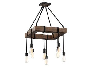 761269 - Eight Light Pendant - Durango