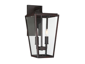761307 - Two Light Wall Lantern - English Bronze