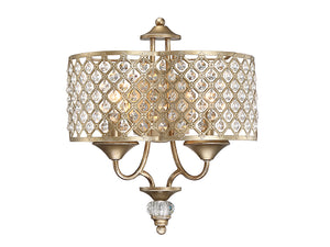 761949 - Two Light Wall Sconce - Pyrite