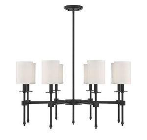 542342 - Eight Light Chandelier - Classic Bronze