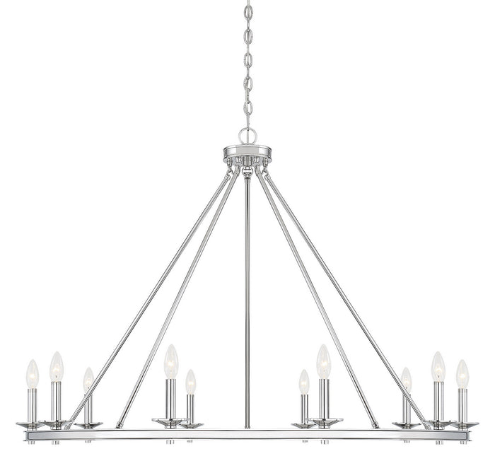 Ten Light Chandelier