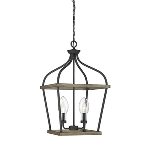 542310 - Two Light Outdoor Chandelier - Weathervane