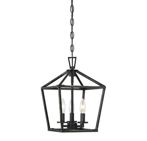 542319 - Three Light Foyer Pendant - Classic Bronze