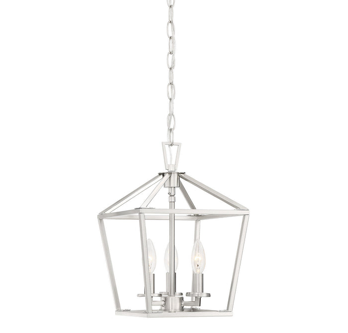 Three Light Foyer Pendant