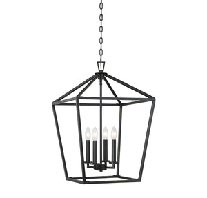542315 - Four Light Foyer Pendant - Classic Bronze