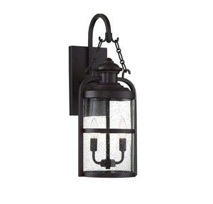 542360 - Two Light Wall Lantern - English Bronze