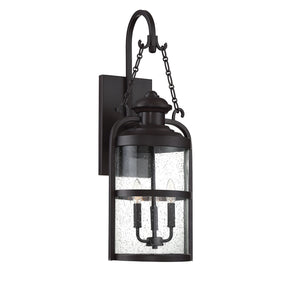 542364 - Three Light Wall Lantern - English Bronze