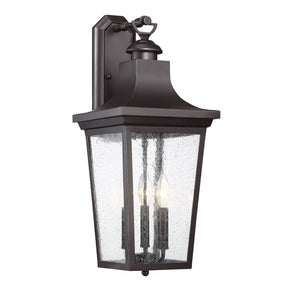 542367 - Three Light Wall Lantern - English Bronze