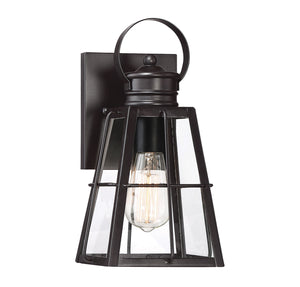 542365 - One Light Outdoor Wall Lantern - English Bronze