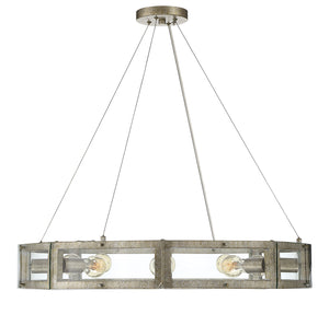 542900 - Eight Light Pendant - Gold Dust