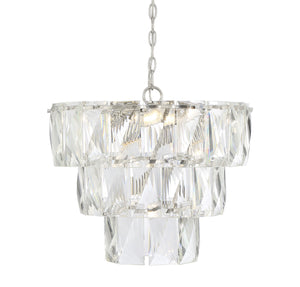597136 - Seven Light Chandelier - Polished Nickel