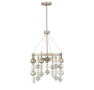 597135 - Three Light Chandelier - Argentum