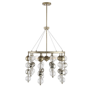 597190 - Five Light Chandelier - Argentum