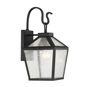 597176 - One Light Outdoor Wall Lantern - Black