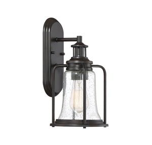 597152 - One Light Outdoor Wall Lantern - English Bronze