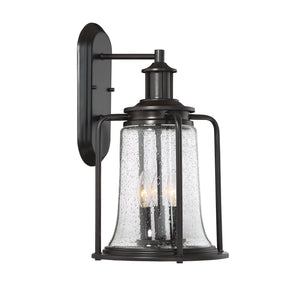 597159 - Three Light Wall Lantern - English Bronze