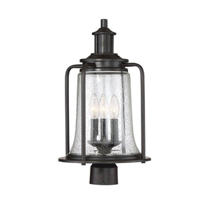 597151 - Three Light Post Lantern - English Bronze