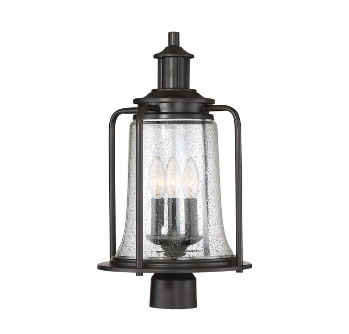 Three Light Post Lantern