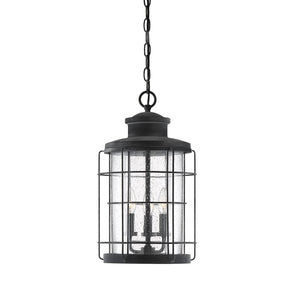 597806 - Three Light Hanging Lantern - Oxidized Black