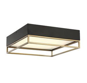 597832 - LED Flush Mount - Warm Brass