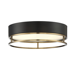 597831 - LED Flush Mount - Warm Brass