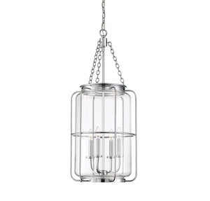 597887 - Four Light Pendant - Polished Chrome