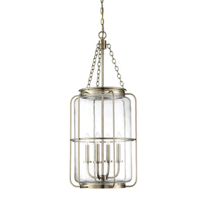 597885 - Four Light Pendant - Noble Brass