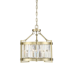 597860 - Three Light Pendant - Noble Brass