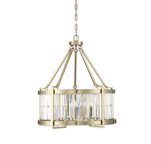 597864 - Five Light Pendant - Noble Brass